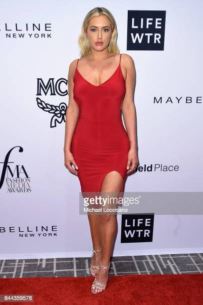 Stassie Karanikolaou attends the Daily Front Row's Fashion Media Awards at Four Seasons Hotel New York Downtown on September 8, 2017 in New York City.