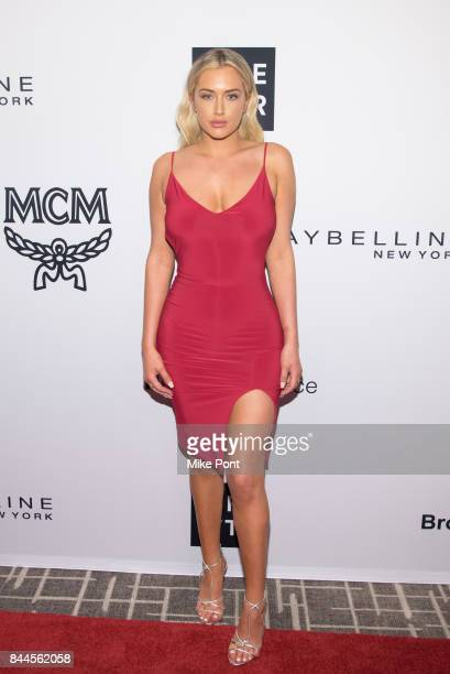 Stassie Karanikolaou attends the Daily Front Row's Fashion Media Awards at Four Seasons Hotel New York Downtown on September 8 2017 in New York City