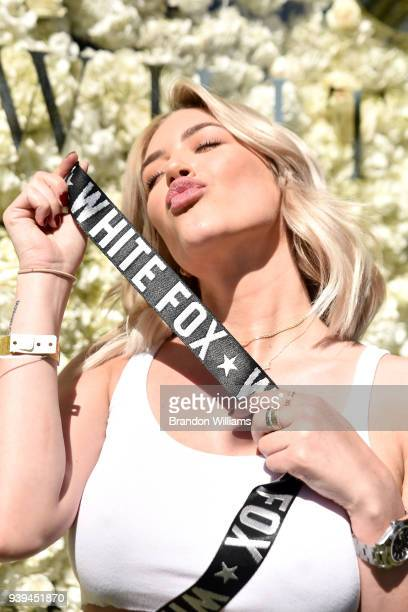 Stassie Karanikolaou attends the White Fox Festival KickOff event at Lombardi House on March 28 2018 in Los Angeles California