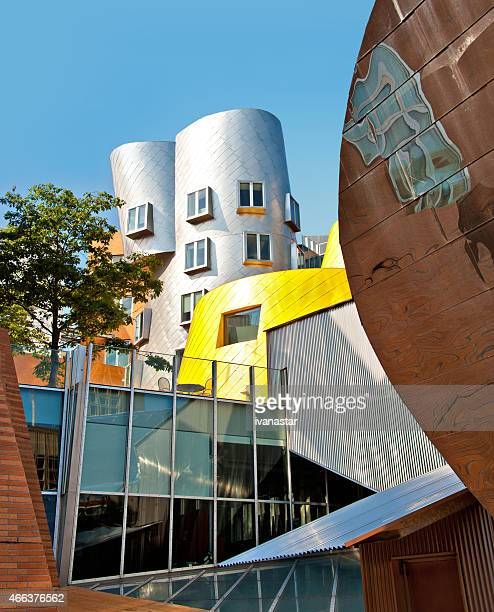 Stata Center on MIT Campus in Cambridge, Massachustets