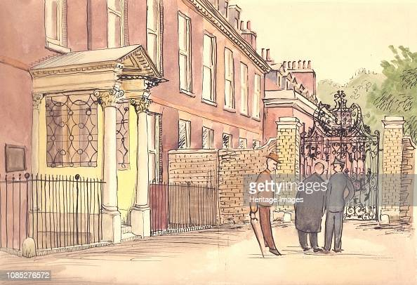 State apartments, Kensington Palace, London, circa 1950 ...