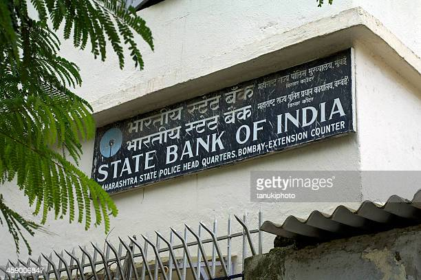 State Bank of India Sign