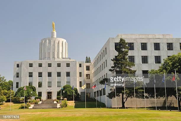 state building at salem - salem oregon stock pictures, royalty-free photos & images
