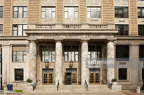 State capitol building downtown Juneau Alaska United States