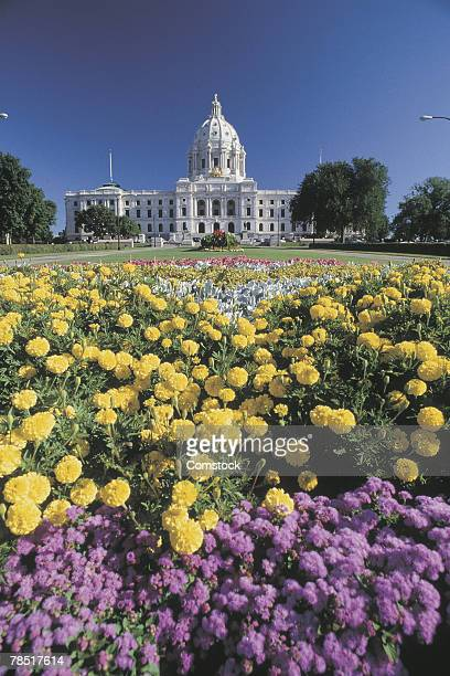 state capitol building , st. paul , minnesota - st. paul minnesota stock pictures, royalty-free photos & images