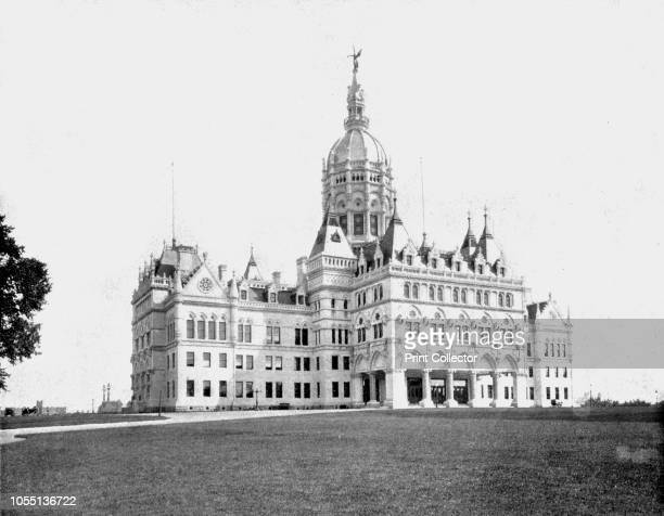 State Capitol Hartford Connecticut USA circa 1900 The Connecticut State Capitol was designed by Richard M Upjohn and completed in 1878 From Scenic...