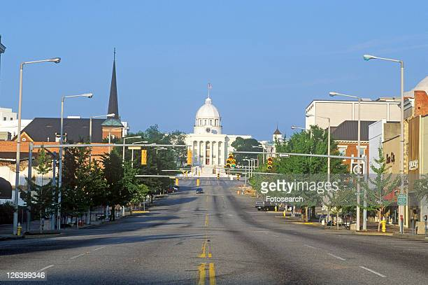 state capitol of alabama, montgomery - montgomery alabama stock pictures, royalty-free photos & images
