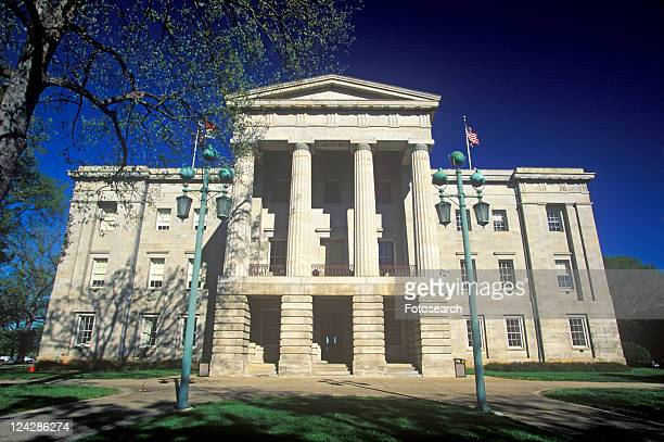state capitol of north carolina, raleigh - raleigh north carolina stock pictures, royalty-free photos & images