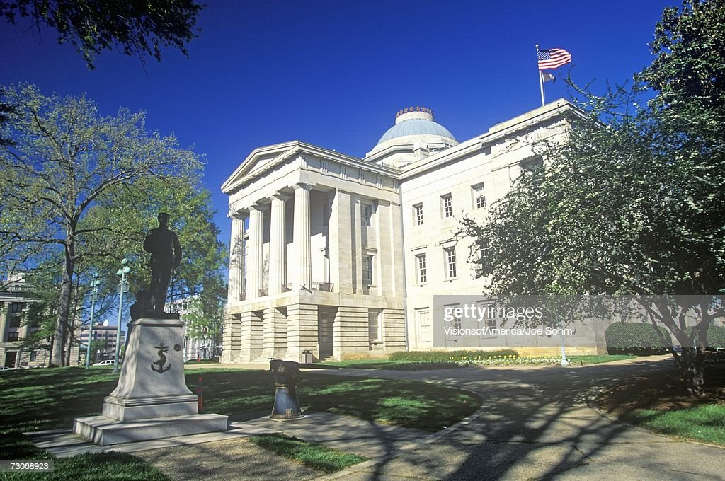 'State Capitol of North Carolina, Raleigh' : Foto de stock