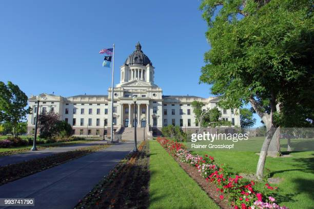 State Capitol of South Dakota and park