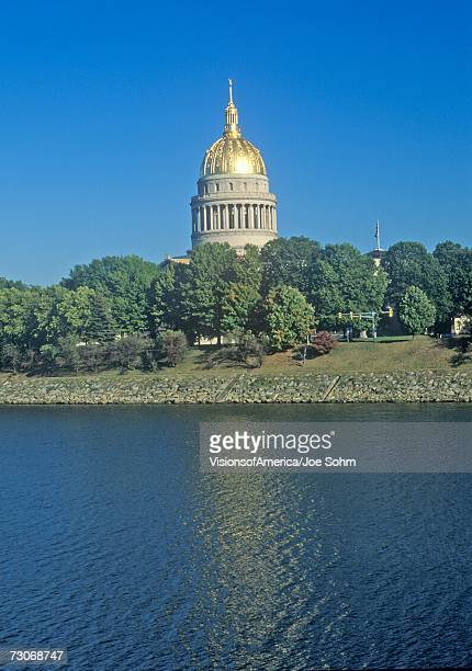 """state capitol of west virginia, charleston"" - protohistory_of_west_virginia stock pictures, royalty-free photos & images"