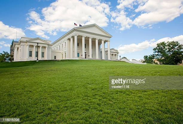 state capitol richmond virginia - richmond virginia stock pictures, royalty-free photos & images