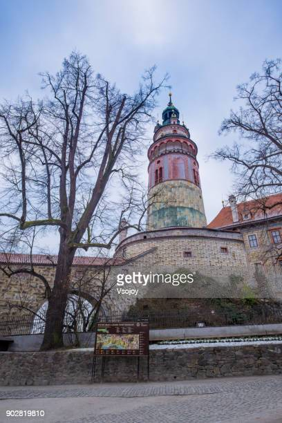 state castle and chateau český krumlov, czech republic - vsojoy stock pictures, royalty-free photos & images