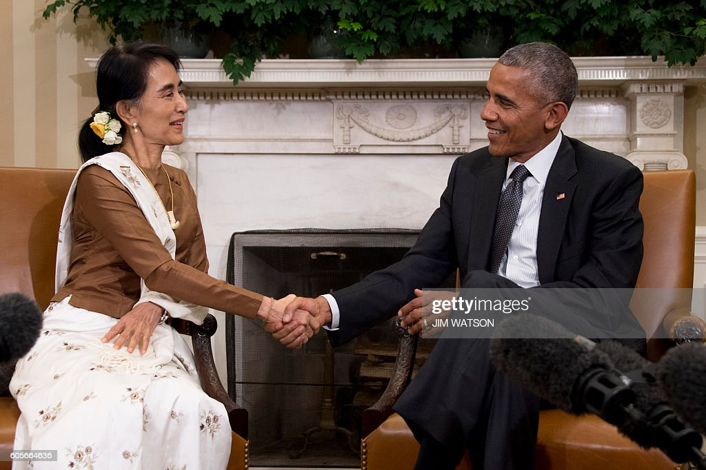 US-BURMA-DIPLOMACY-politics : News Photo