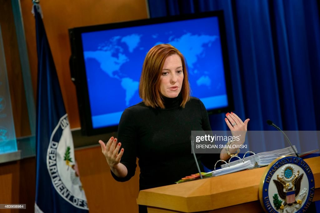 US-POLITICS-PSAKI : News Photo