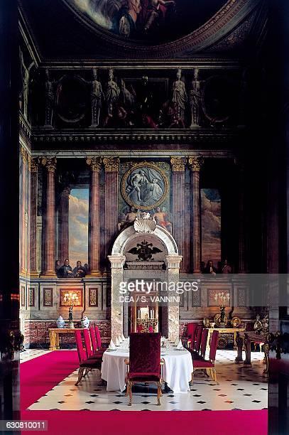 State Dining Room, Blenheim Palace, 1705-1722, architect John Vanbrugh , Woodstock, England. United Kingdom, 18th century.
