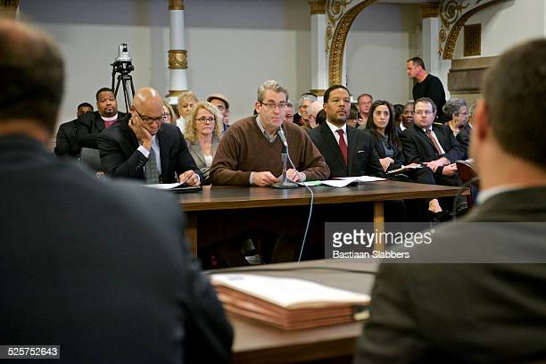 state education funding commission hearing at philadelphia - local government building stock pictures, royalty-free photos & images