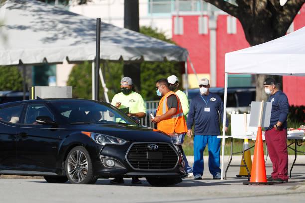 FL: Coronavirus Testing Site Opens At Disney World's Maingate Complex