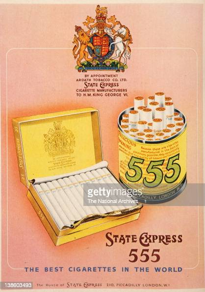 State Express 555 Cigarette Advertising The Best Cigarette In The