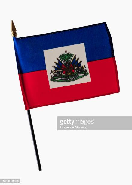 state flag of haiti - haitian flag stock pictures, royalty-free photos & images