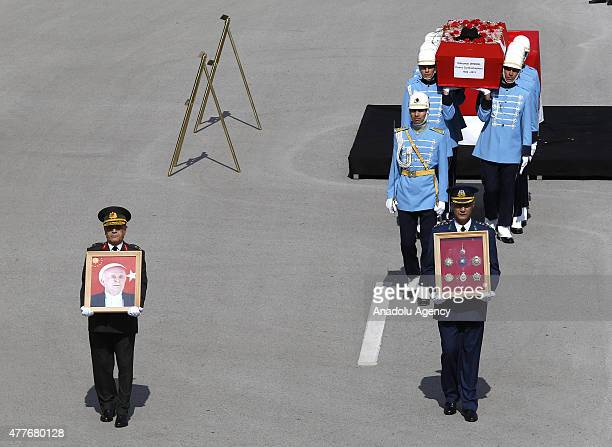 State funeral is held for Turkey's ninth President and former Prime Minister Suleyman Demirel at the Grand National Assembly of Turkey in Ankara...
