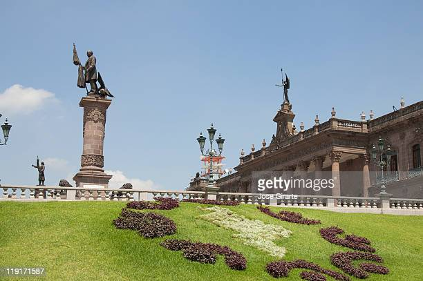 state government's palace - nuevo leon stock pictures, royalty-free photos & images
