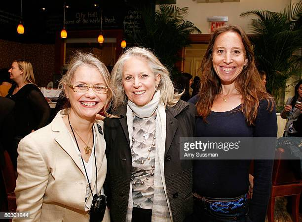 NY State Governor's Office for Motion Picture and Television Development Pat Kaufman Susan Patricof and Producer Caroline Baron attend the Women's...