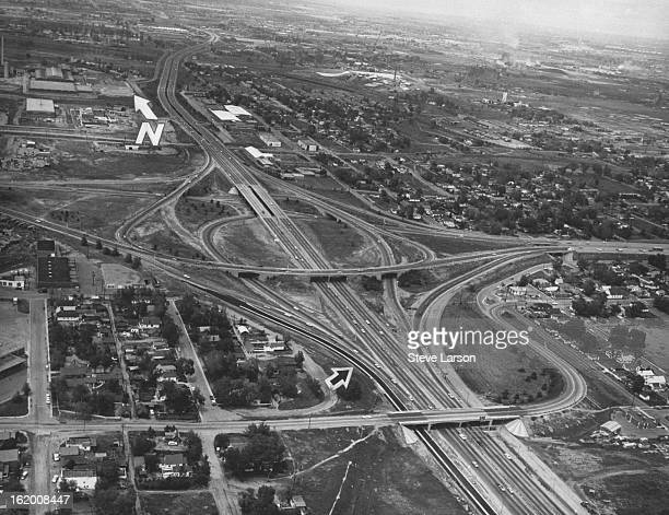 JUN 11 1967 JUN 30 1967 State highway engineers believe they have solved another problem at one of Denver's most complicated interchanges the...