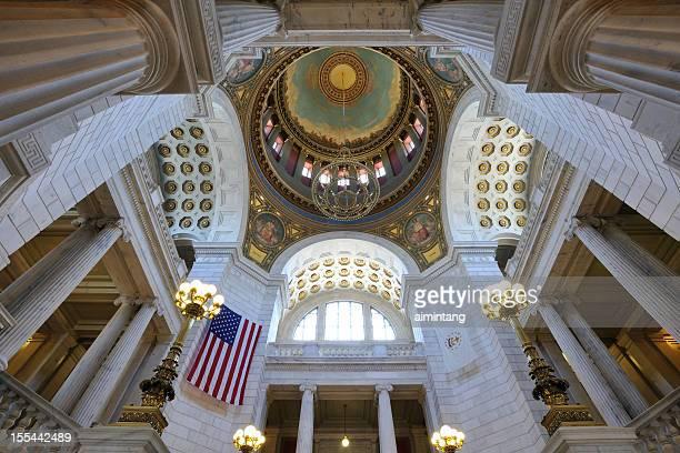のロードアイランド州議事堂 - ロードアイランド州プロビデンス ストックフォトと画像