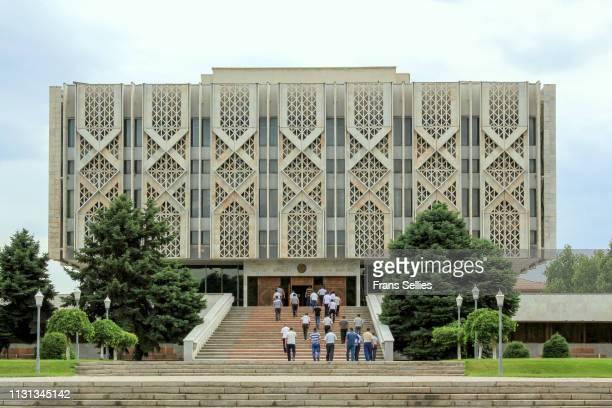 state museum of history of uzbekistan, tashkent - frans sellies stockfoto's en -beelden