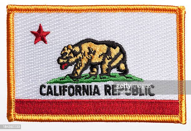 State of California flag patch