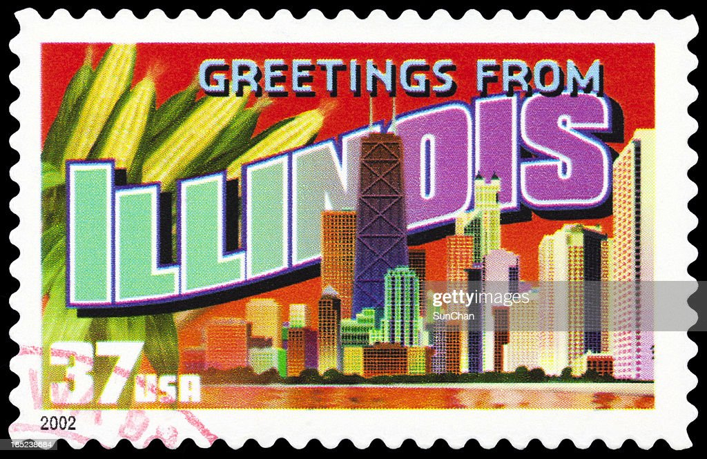 State of Illinois : Stock Photo