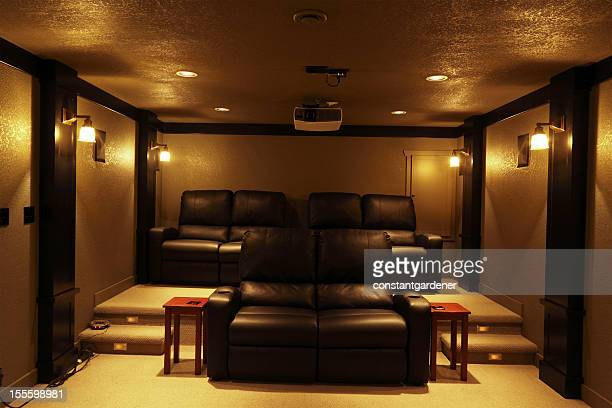 State of The Art Home Theatre With Seating
