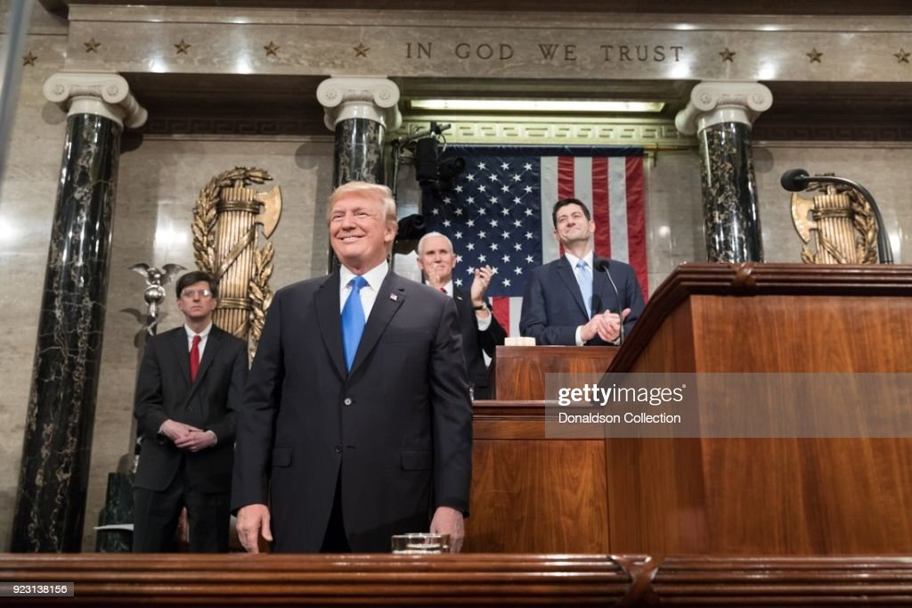 2018 State of the Union Address : News Photo