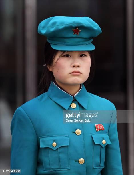 staat in nordkorea offizielle - pyongyang stock-fotos und bilder
