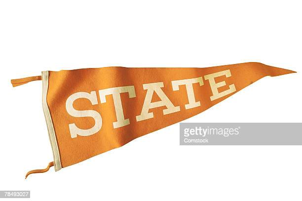 state pennant - pennant stock pictures, royalty-free photos & images