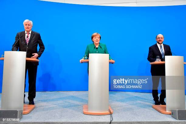State Premier for the state of Bavaria and leader of the Christian Social Union party Horst Seehofer German Chancellor and leader of the conservative...