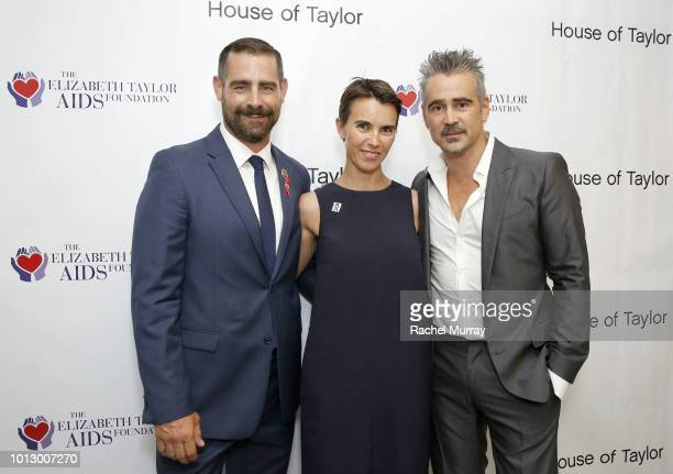 PA State Representative and CoHost Brian Sims ETAF Ambassador and Elizabeth Taylor's granddaughter Naomi Wilding and ETAF Ambassador and CoHost Colin...