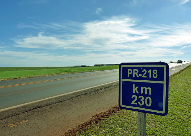 State Road PR-218 at Km 230 - Parana, Brazil