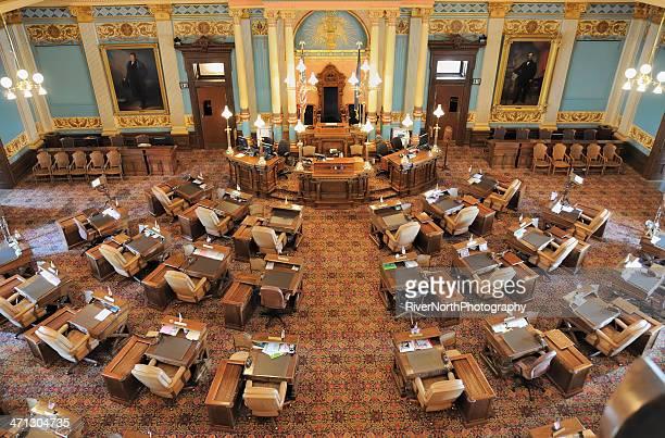 State Senate Chamber, Lansing Michigan