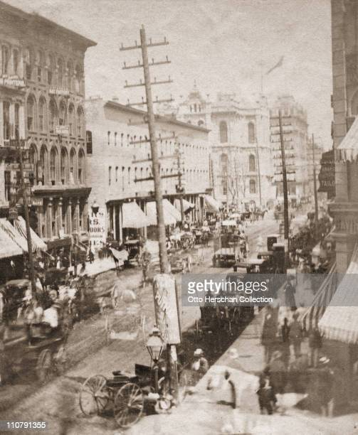 State Street in Chicago 1871 Later that year the Great Chicago Fire destroyed a large part of the city and claimed hundreds of lives