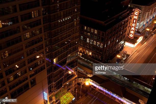 state street em chicago - chicago illinois - fotografias e filmes do acervo