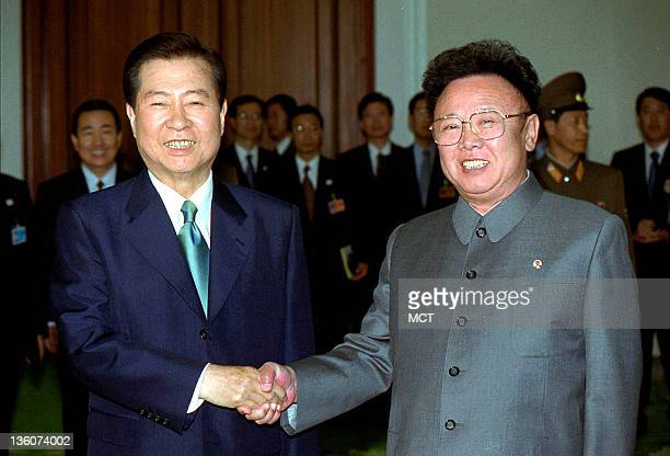 State television from the North Korean capital of Pyongyang has announced the death of Chairman Kim Jong Il right He was 69 In this file photo from...