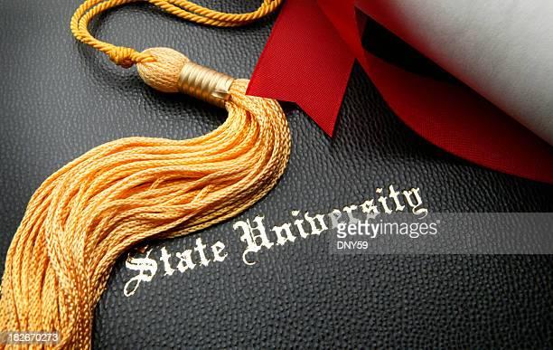 州立大学卒業式