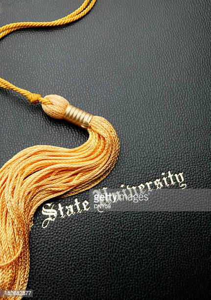 state university graduation - tassel stock pictures, royalty-free photos & images