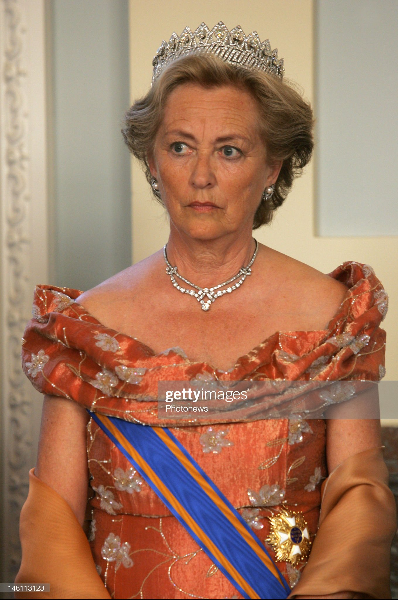 State visit of Queen Beatrix  Gala : News Photo