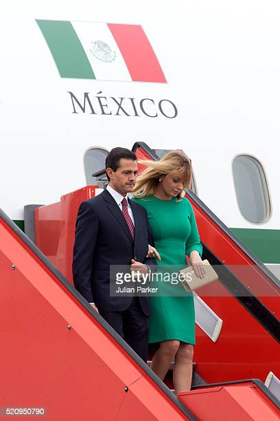 State visit of the President of The United Mexican States President Enrique Pena Nieto and his wife Angelica Rivera to Denmark The President and his...