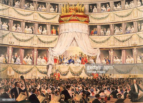 State visit to Royal Italian Opera now the Royal Opera House Covent Garden London before 1892