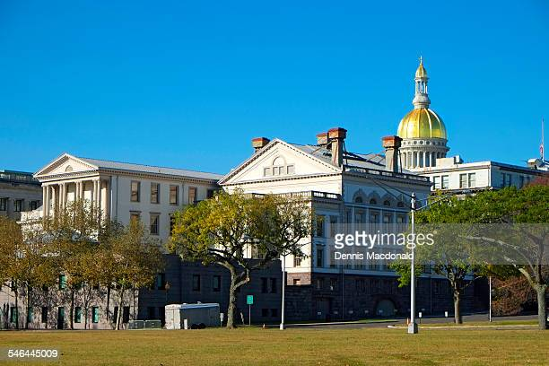 statehouse, trenton, new jersey - trenton new jersey stock pictures, royalty-free photos & images