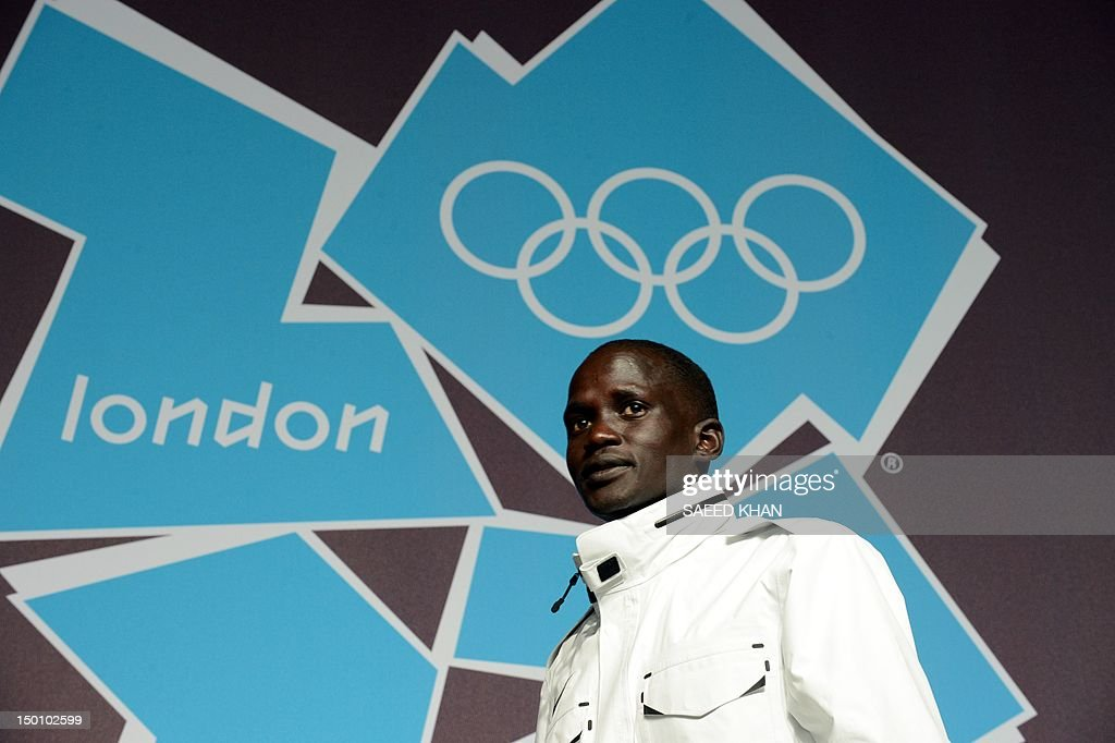A stateless athlete Guor Marial, from So : News Photo